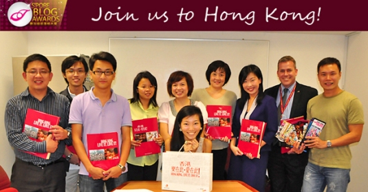 Singapore Blog Awards Winners